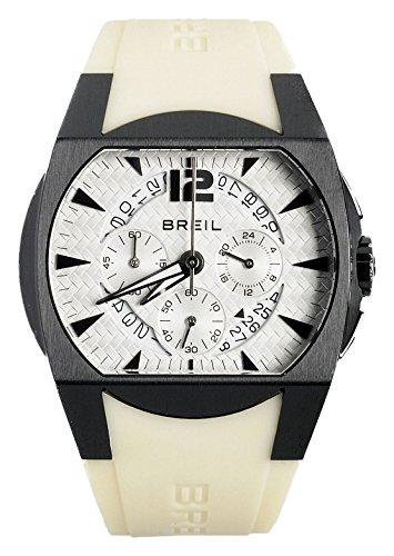 Breil Reloj Cronógrafo para Hombre de Cuarzo con Correa en Caucho BW0236