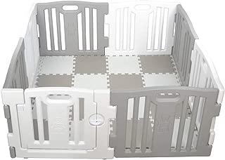 Parque de Bebe XL 8 Piezas Star Ibaby Play Twin/Incluye