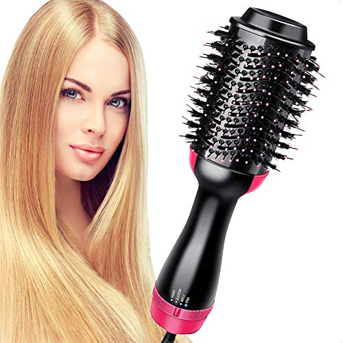 Hair Dryer Brush, Topsma Hot Air Brush 4 in 1 Upgrade Anti-Scaled Negative Ion Brush Blow Dryer with Smooth Frizz and Ionic Technology