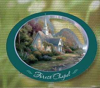 Thomas Kinkade Screen Saver- Forest Chapel