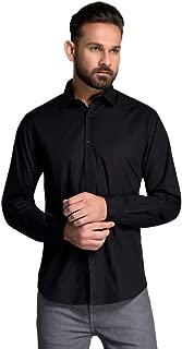 ID Men Black Slim Fit Shirt