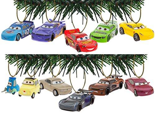 Characteristix Disney/Pixar Cars 3 Holiday Ornaments Set of 11