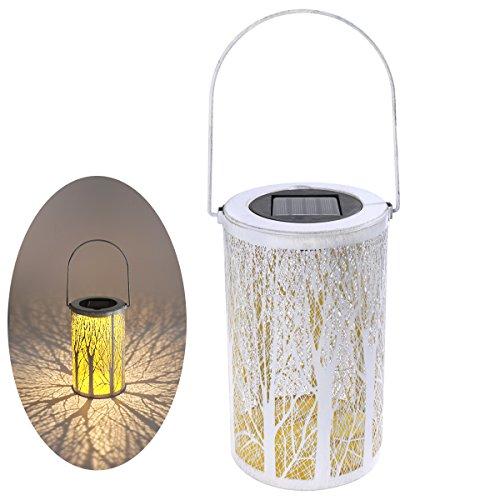 LEDMOMO LED-Solarlaterne, die marokkanische Schattenbild-Solarlichter hängt LED beleuchtet Garten-im Freien, der wasserdichte Lampe für Patio-Hof beleuchtet