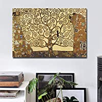 有名なヴィンテージキャンバス絵画ポスタープリントユニークな家の装飾壁アート写真リビングルームの寝室のキャンバスプリント40x55cmフレームレス