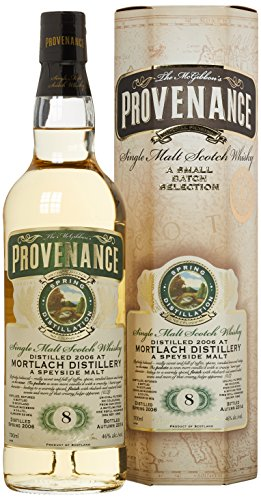 Mortlach Provenance McGibbon 8 Years Old 2006 mit Geschenkverpackung (1 x 0.7 l)