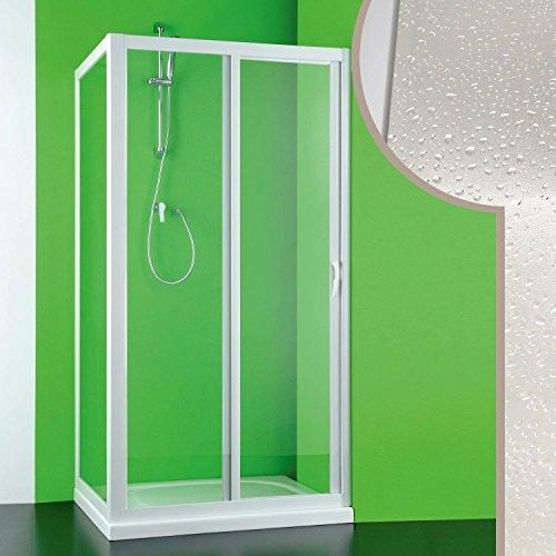 Cabine douche 90x150 CM en acrylique mod. Mercurio avec ouverture laterale