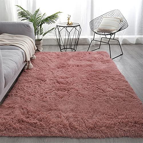 Alfombra de Felpa de Color sólido Simple, Manta de Noche en el Dormitorio, tapete para sofá en la Sala de Estar, tapete para Mesa de Centro para el hogar