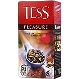 [2 PACK] Black tea TESS wild rose + apple pleasure Beverages Grocery Gourmet Food [25 tea bags in 1 PACK]