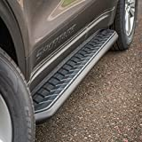 ARIES 2061002 AeroTread 5 x 70-Inch Black Stainless SUV Running Boards, Select Ford Edge