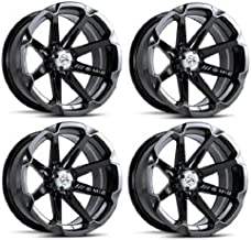 MSA M12 Diesel ATV Wheels/Rims Black 14