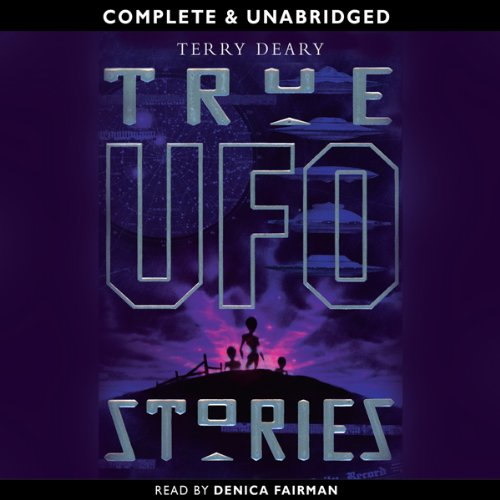 True UFO Stories audiobook cover art