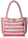 Betsey Johnson Just Bead It Bag, pink