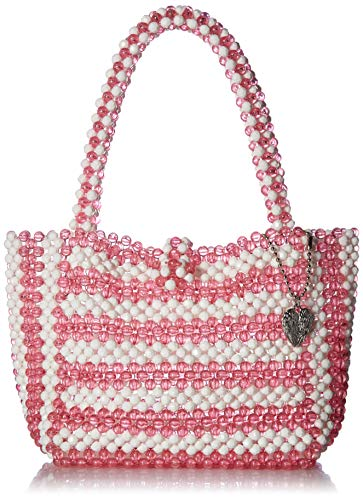 Betsey Johnson Just Bead It Tasche, Pink (rose), Einheitsgröße
