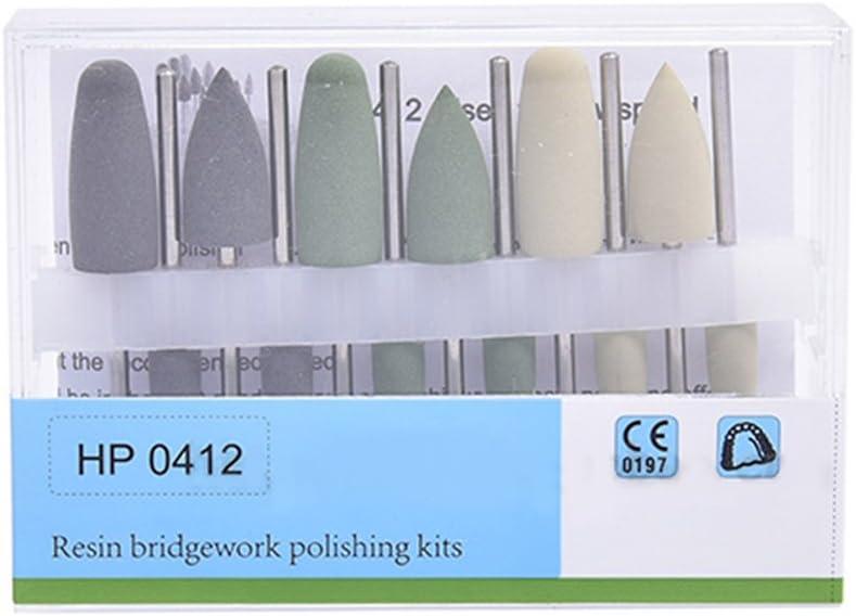 NSKR HPS Brand new Dental Resin Base Hidden Polishing Classic Denture Kits HP0412