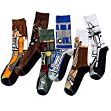5 Pares Hombres Calcetines Mujeres Star Wars Medias Calcetines Hip Hop