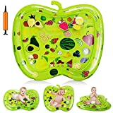 Nice2you Alfombrilla de Agua, Juguetes para bebés Durante 3 6 9 Meses, el Juguete centros de Actividades de Desarrollo Infantil temprano | Alfombra de Juego de Agua Que no salpica BPA