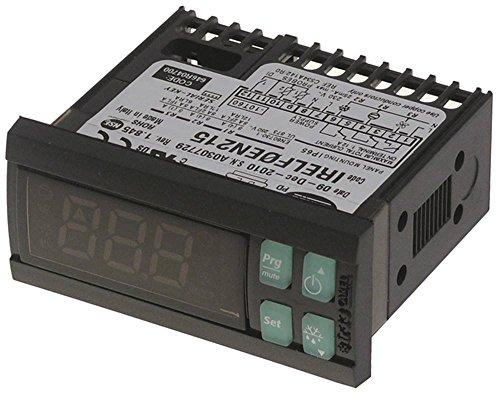 CAREL IRELF0EN215 Régulateur électronique pour Electrolux 727106, 727127, 726465, 726458, 728303 230 V AC pour NTC Dimensions 71 x 29 mm NTC NTC NTC NTC NTC NTC