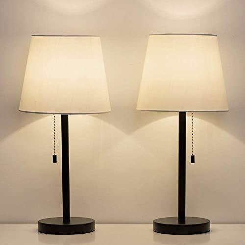 Bedroom Nightstand Lamps Amazon Com