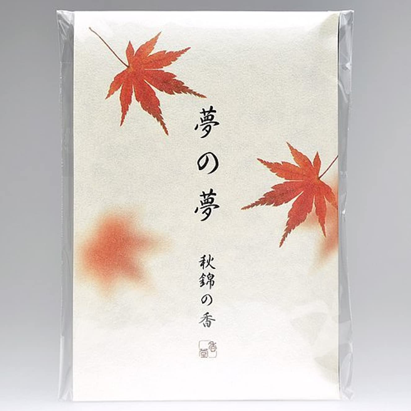 宗教受け皿直径夢の夢 秋錦の香 (紅葉) スティック12本入
