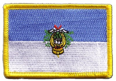 Flaggen Aufnäher San Marino Fahne Patch + gratis Aufkleber, Flaggenfritze®