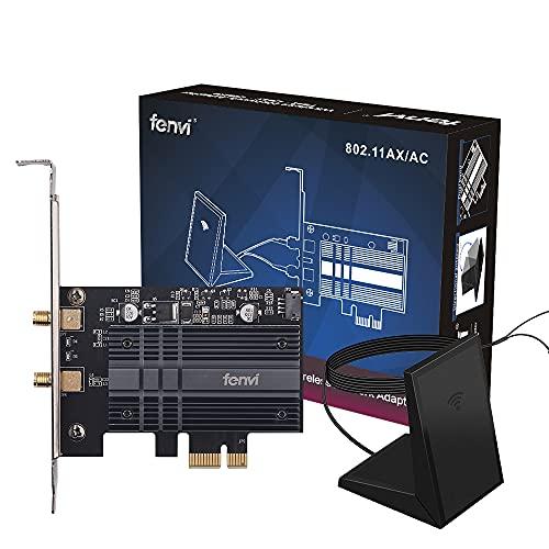 fenvi WiFi 6 AX200NGW PCI-E WiFi Adapter Card PCIe...