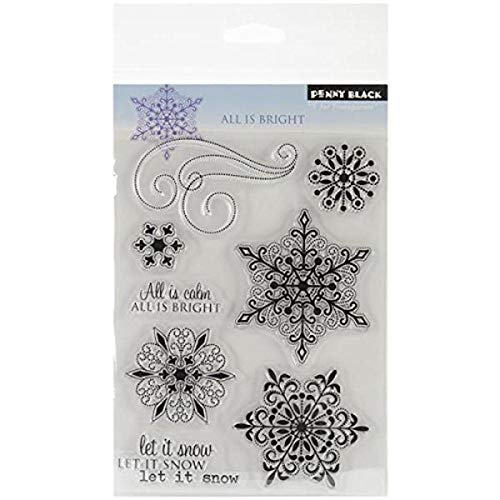 Penny Black 30-137 All is Bright Clear Stamp