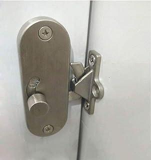 WANLIAN 90 degree locking privacy lock Sliding barn door latch Right angle door clasp cam lock