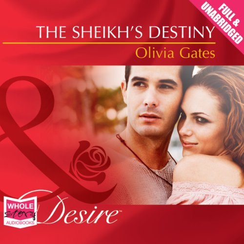 The Sheikh's Destiny audiobook cover art