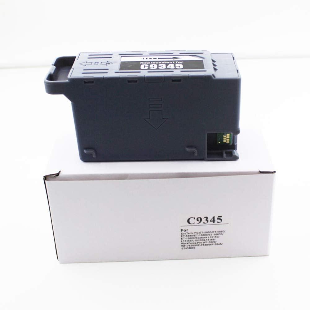UP C9345 C12C934591 Maintenance Box Compatible for ST-C58000 EC-C7000 ST-C8000 Pro WF-7830 WF-7840 WF-7820 WF-7845 ET-16600 ET-16650 ET-5880 ET-5850 ET-5800 L15160 Printer