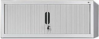CP Rehausse pour armoire à rideaux - h x l x p 450 x 1000 x 420 mm - gris clair - Armoire Armoire pour bureau Armoire à ri...