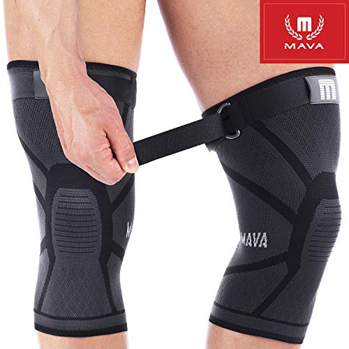Mava Sports Knee Compression Sleeve Support