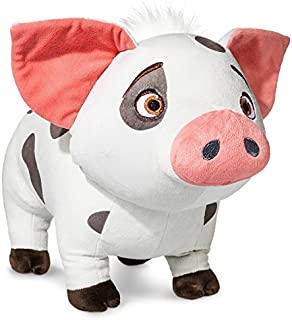 Jay Franco Moana Plush Stuffed Pua Pig Pillow Buddy - Kids Super Soft Polyester Microfiber, 16 inch (Official Disney Product),
