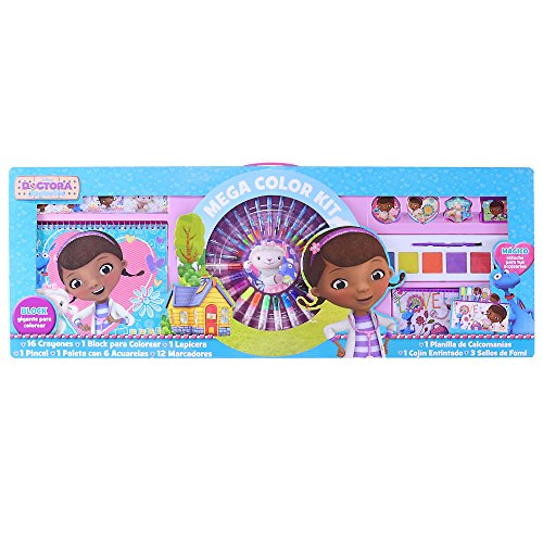 Mega Color Kit, Set para colorear -Doctora Juguetes-