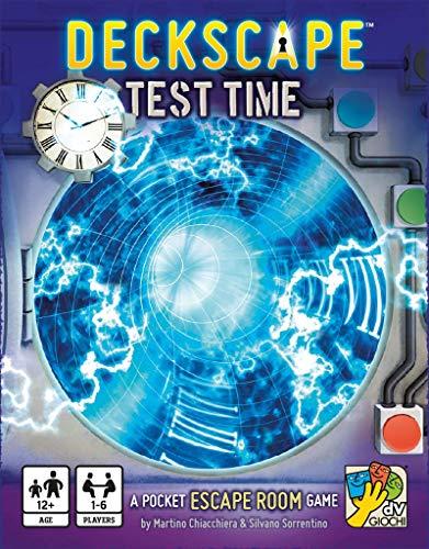 dV Giochi Deckscape: Test Time Card Game DVG4474 Mixed Colours