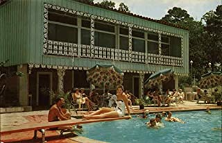 Gulf Hills Dude Ranch and Country Club Ocean Springs, Mississippi Original Vintage Postcard