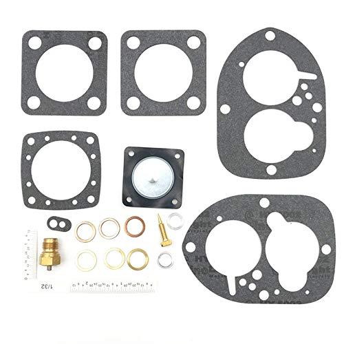 momok Kit de ReconstruccióN de Carburador de Motocicleta para Penta Solex 44PA1 856471 856472