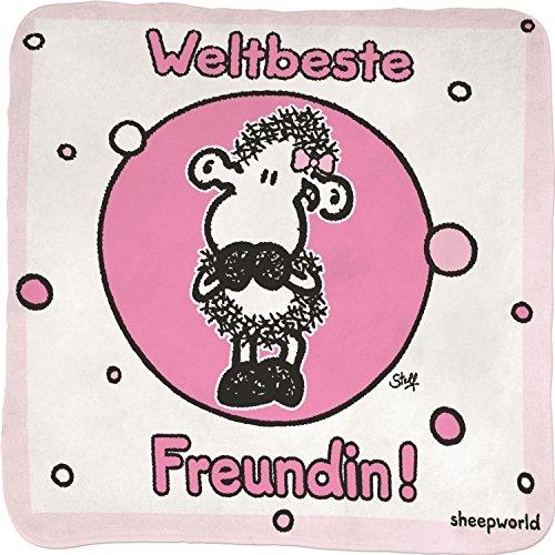 Sheepworld Magic Towel Weltbeste Freundin!