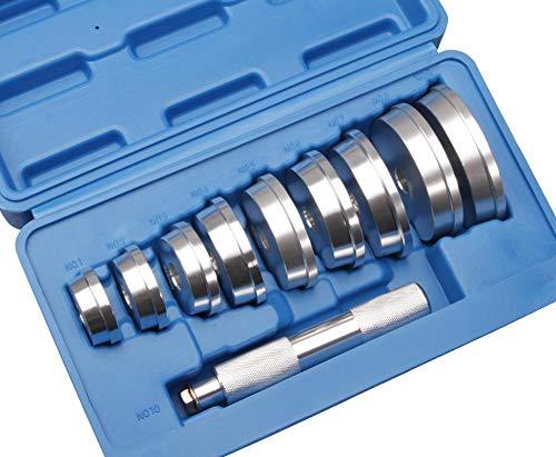 Herkules Werkzeuge 10-TLG. Buchsen Simmering Eintreiber Austreiber Lagertreibsatz Lager Treibsatz