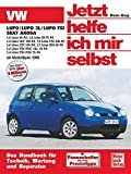 VW Lupo / VW Lupo 3L / Lupo FSI, Seat Arosa ab Modell 1998. Jetzt helfe ich mir selbst: 1,8 Liter 50 PS; 1,4 Liter 60/75 PS; 1,4 Liter 16V 100 PS; 1,4 ... PDE -3L- 61 PS; 1,4 Liter TDI PDE 75 PS: 220