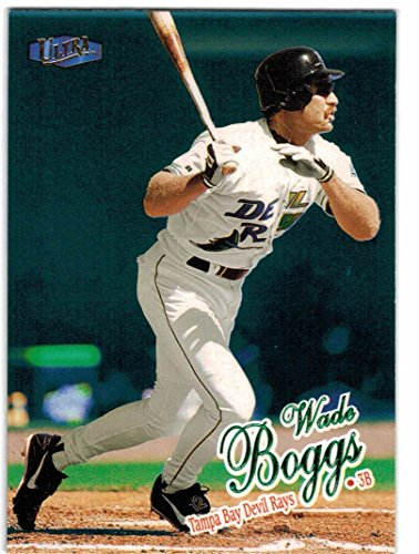 1998 Ultra Tampa Bay Devil Rays Team Set with Wade Boggs & Fred McGriff - Inagural Season