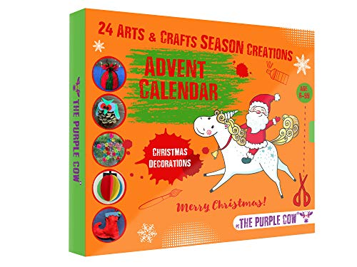 NEW 2021 Christmas Countdown Advent Calendar - 24 Beautiful DIY Arts &...