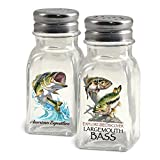 American Expedition Largemouth Bass Salt and Pepper Shakers
