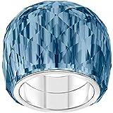 SWAROVSKI Nirvana 5432195 Women's Ring Blue Crystal