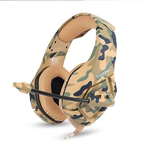Docooler Gaming Headset für PC Neue Xbox Laptop DS PSP,3.5mm Kopfhörer mit Mikrofon Stereo Sound,Noise Reduction Musik Kopfhörer