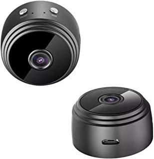 Mini Cámara Espía Inalámbrica de Vigilancia con Visión Nocturna en Luz Baja - Cámara 1080P HD con Imán - Cámara Secreta de...