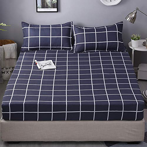 huyiming Verwendet für Einzelstück 1.8m1.5 staubdichte Bettdecke rutschfest 1.2 Simmons dünne Matratze Bettdecke 2.0 * 2.2cm