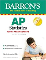 AP Statistics: With 6 Practice Tests (Barron's Test Prep)