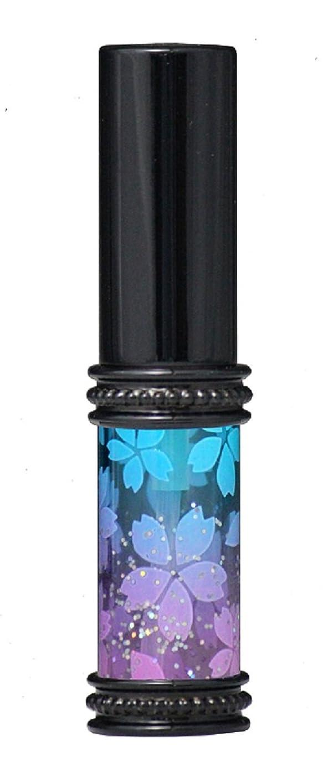 カーフ候補者観光ヒロセアトマイザー メタルラメさくらアトマイザー 16178 BL/PK(メタルラメさくら ブルー/ピンク) 真鍮玉レット飾り付