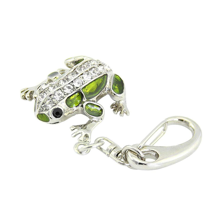 否認するインタラクションホイール64GB USBメモリー おしゃれな動物のカエルの形USBメモリ2.0フラッシュドライブ ダイヤモンド キーホルダー付き 小型 防水 かわいい キャラクター メモリースティック 女の子のギフトプレゼント