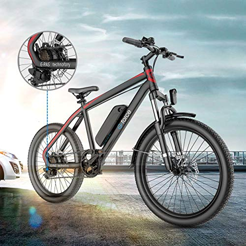 51vTZdsoFeL. SL500 G-Force Electric Bicycle, 26-Inch Mountain Electric Bicycle for Adults